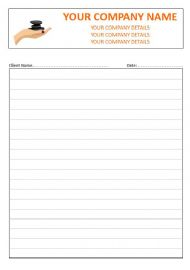 Massage Therapist NCR Therapy Note Pads